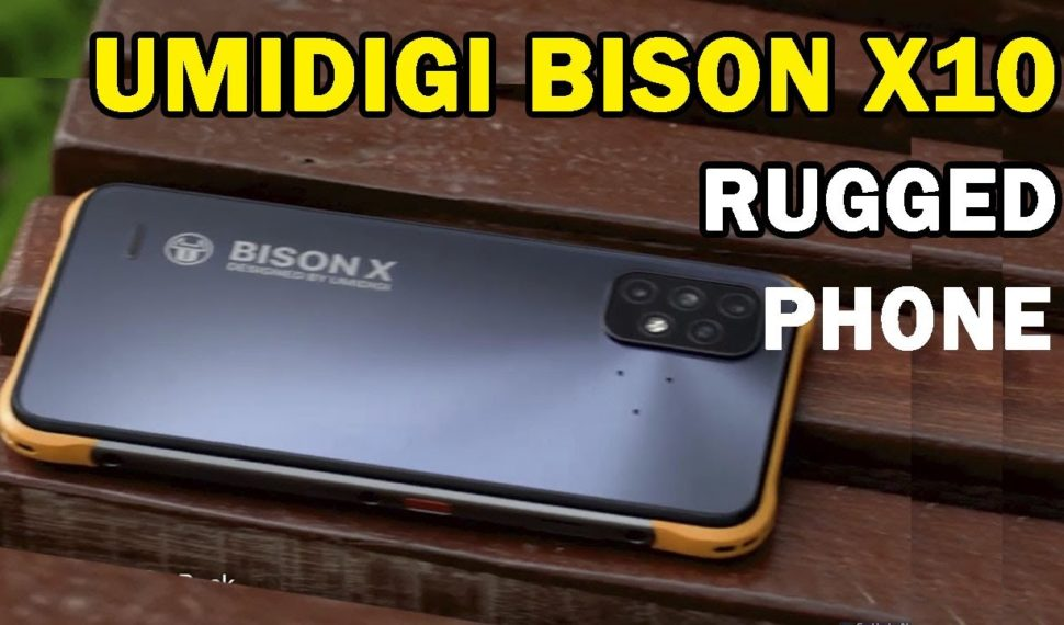 UMIDIGI BISON X10 Rugged Smartphone First Look And Crush Test