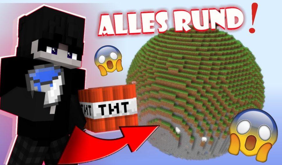 Dieser SHADER macht alle TEXTUREN RUND!! Minecraft Shader-test in Skywars [deutsch]