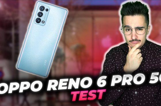 OPPO RENO 6  PRO 5G : Test complet du smartphone haut de gamme d'Oppo ⚡📱⚡ BONUS Enco free 2 mon avis