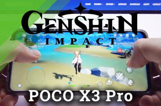 Genshin Impact Game Test on XIAOMI Poco X3 Pro – Gameplay / Performance Checkup