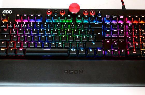 AOC – AGON AGK700 Gaming Taastatur – RGB Beleuchtung