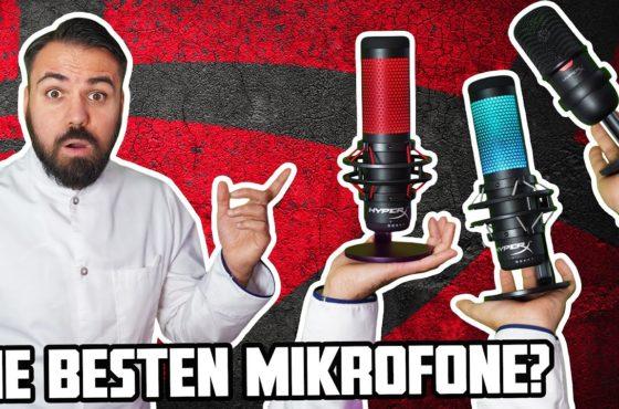 Sind HyperX Gaming Mikrofone besser als Gaming Headset? | HyperX Solocast & Quadcast S für PS5 & PC