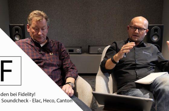 Hörtest mit Severin! Heco Celan vs. Elac Vela vs. Canton Reference – Kunden bei Fidelity