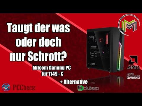 MIFCOM – Gaming PC Ryzen 5 3600 – RX 6600 +ALTERNATIVE – Taugt der was?