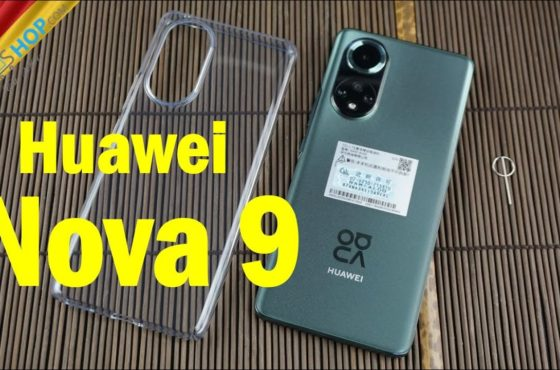 Huawei Nova 9 Smartphone mit 120Hz OLED, HarmonyOS & Snapdragon 778G   Unboxing & Hands-On [Deutsch]