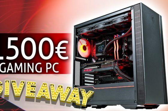 GEWINNE diesen 1500 Euro GAMING PC 2021!!
